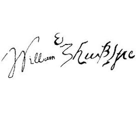 Firma William Shakespeare